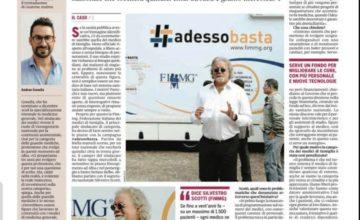 #ADESSOBASTA TOUR: il 4 settembre la FIMMG di Cuneo è scesa in piazza a fianco del Segretario Nazionale Scotti